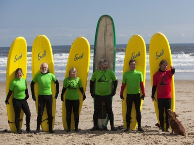 2 Hour Surf lessons Tyne and Wear