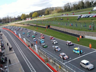 Motorsports Vision at Oulton Park Drive a Ferrari