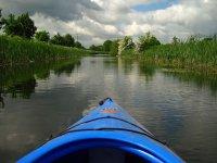 Kayaking on still waters