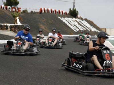 24-Min Kart Circuit Lanzarote 3 Tickets