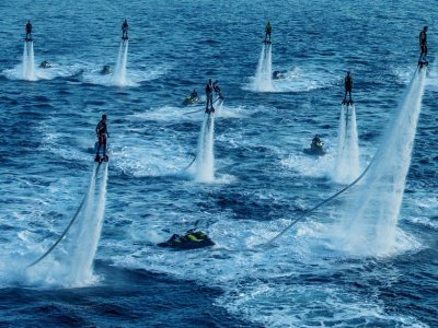 Valencia Boat Party Flyboard