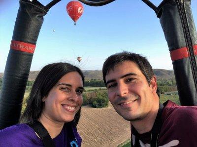 Private Hot-Air Ballon Ride Couples Aranjuez