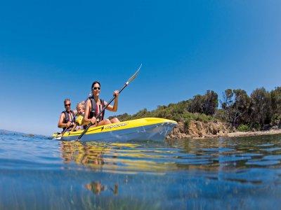 Kayaking trip across Major Cove 2h