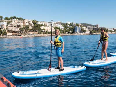1h paddle surf equipment renting in Mallorca