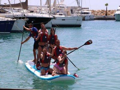 Paddle surf XL equipment retnal in Mallorca 1h