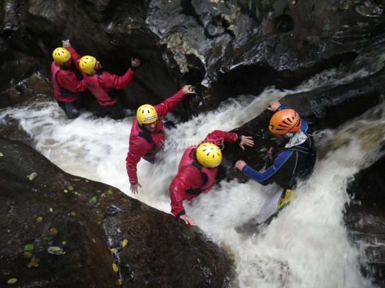 Rafting and Canyoning
