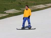 One of our snowboarding instructors at Llandudno Ski & Snowboard Centre!