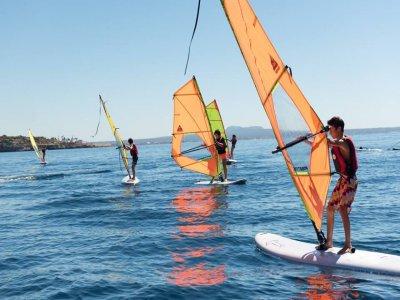 Windsurfing Equipment Rental in Cala Major 2 hours