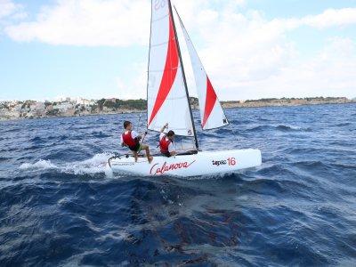 Catamaran rental in Palma de Mallorca, 2h