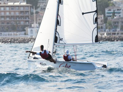 Double Vibe sailing boat in Mallorca 2hours