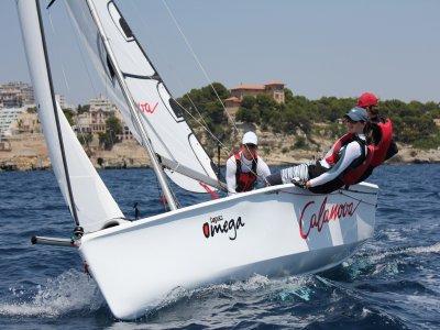 Sailing boat renting 3 seats Mallorca 6h