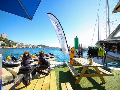 Omega sailboat renting Mallorca 10hrs