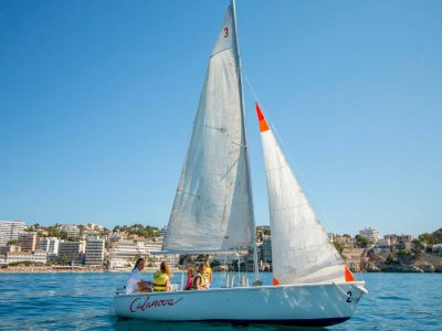 Sailboat Rental in Mallorca 5 people, 2 hours