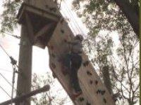 Skillful climbing