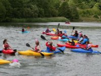 Great group paddling for kids