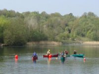 Our open canoeing expeditions on the lake