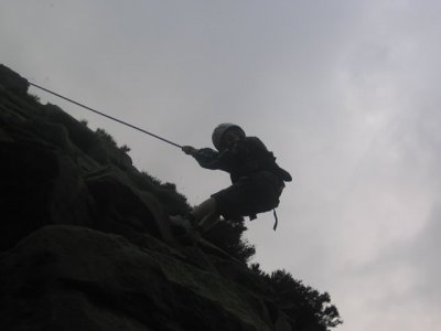 Outdoor DevRes Abseiling