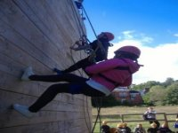Abseiling for youngsters