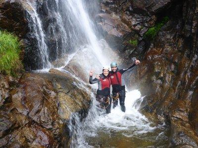 Arbillas canyon descent Sierra de Gredos
