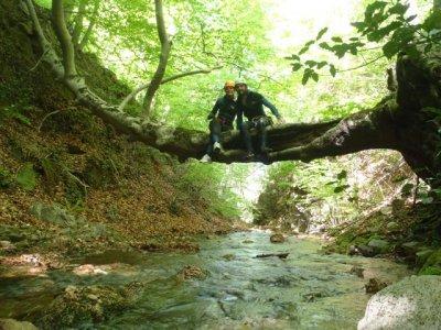 Canyoning in Rentadors, Viladrau