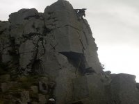 There are many different crags available to climb