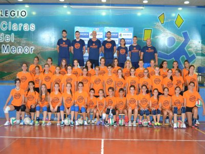 Hilarión González Bilingual Volleyball Camp