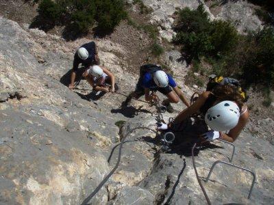Les Roques d'Empalomar Via Ferrata in Vallcebre