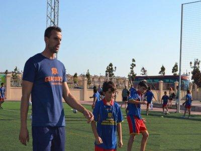 Amaya brothers bilingual football camp in Murcia