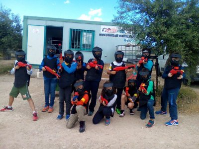 Paintball for schools. Campo Real 100 balls