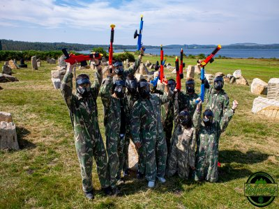 Paintball game kids 150 balls in Mazaricos