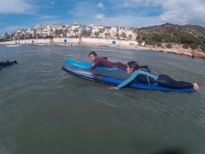 Summer surf camp at Sitges, 1 week evenings