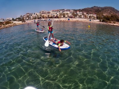 Rent Paddle Surf Equipment in Sitges 1 hour