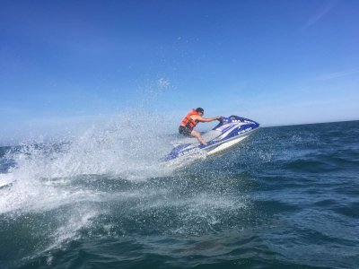 Jet Ski Guided Tour Costa Dorada, 45min