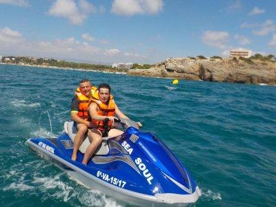 Jet Ski Guided Tour in Costa Dorada, 1 Hour