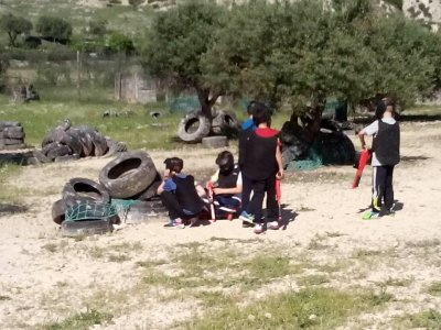 Paintball game for kids, Campo Real