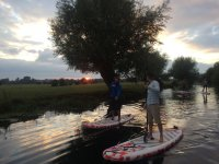 SUP at the sunset