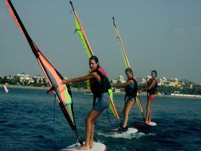 Windsurfing material rental in Vera