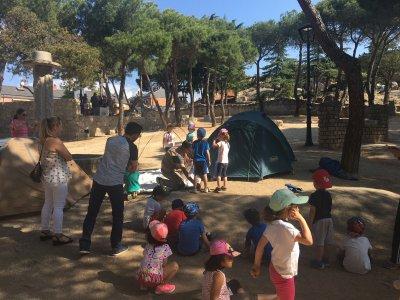 Adventure for schools, Madrid 3h