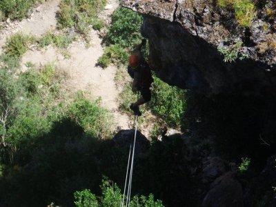 Vía Ferrata at Benaoján, Grazalema's Mountains