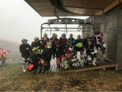 Enduro trip+lunch at midday in Sitges