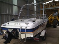 Our high performance wakeboarding boat