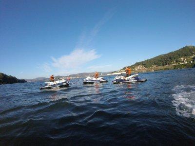 Flyboarding and jet ski package Vigo estuary