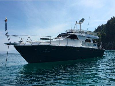 Boat rental + flyboarding in Vigo 8 hours