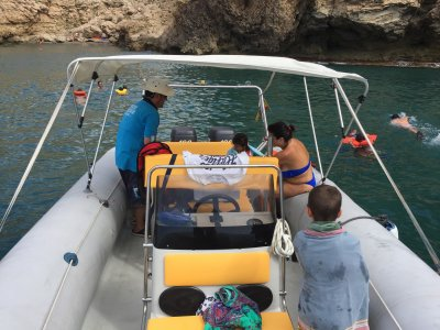 3h boat ride in Cala de San Pedro