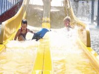 Our slides at Wheelgate Park Water Parks