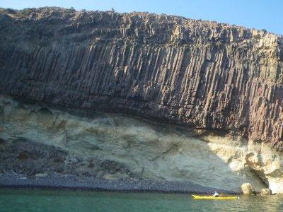 2h individual kayak renting in Roquetas