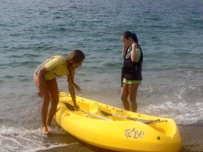 Canoe rental for 2 hours, Roquetas