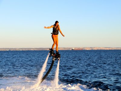 Flyboard course in Port Calanova 15 minutes