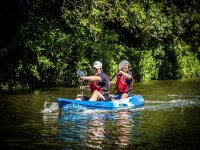 Couple or kayakers