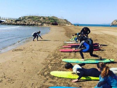 Surf camp at Mazarrón, 15 days